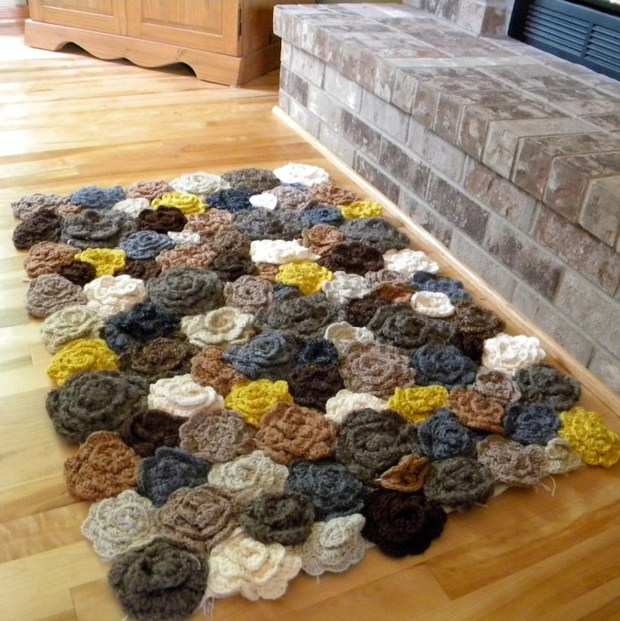 Вязать ковры своими руками 102