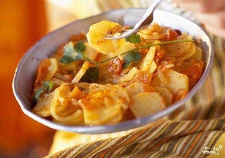Картошка с овощами в мультиварке рецепты с фото пошагово