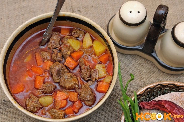 суп из говядины рисовый рецепт с фото