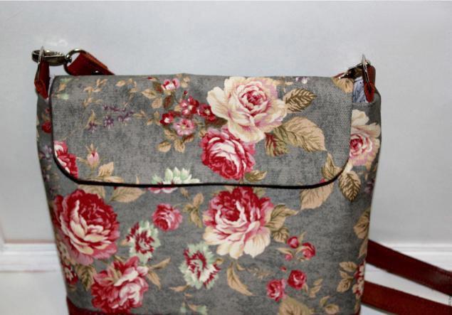Обшить сумку тканью своими руками 57