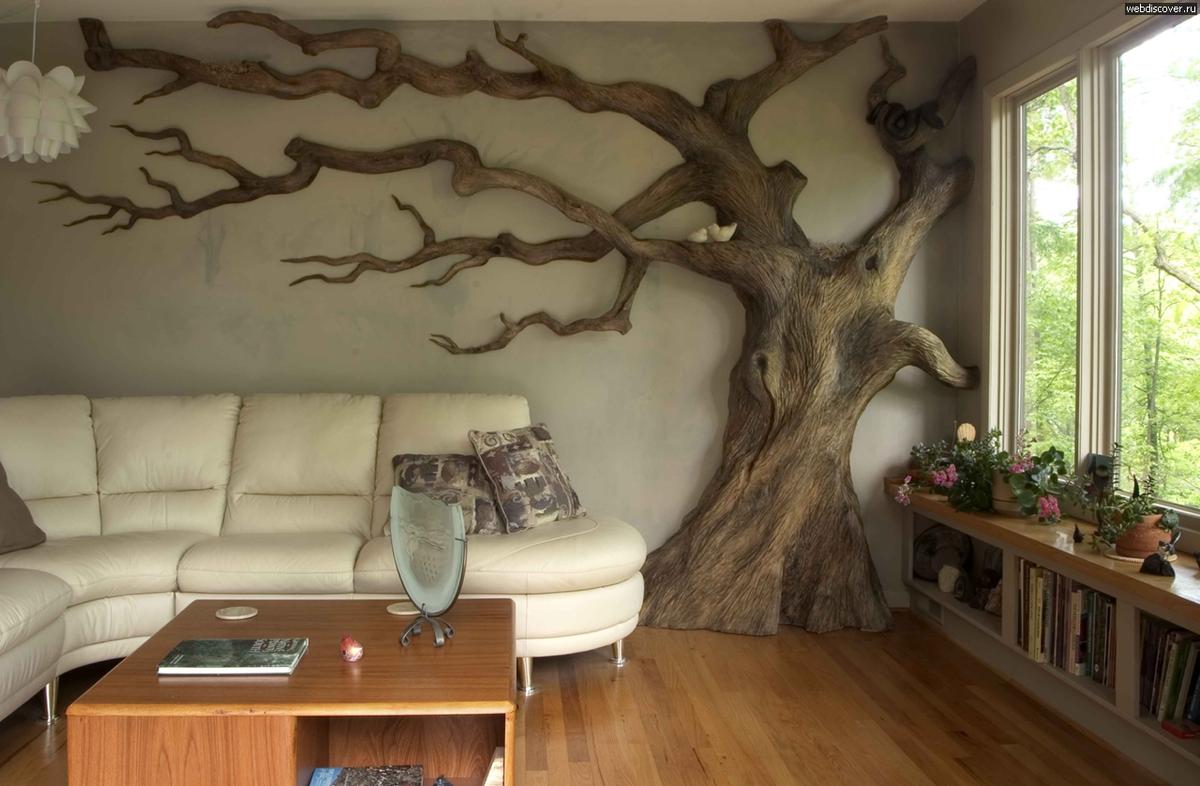 Деревянные элементы интерьера своими руками