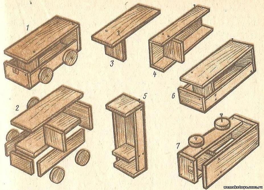 Поделки из пиломатериалов