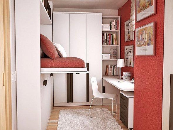 Идеи интерьера для маленькой комнаты фото