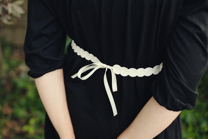 Ремень для платья своими руками