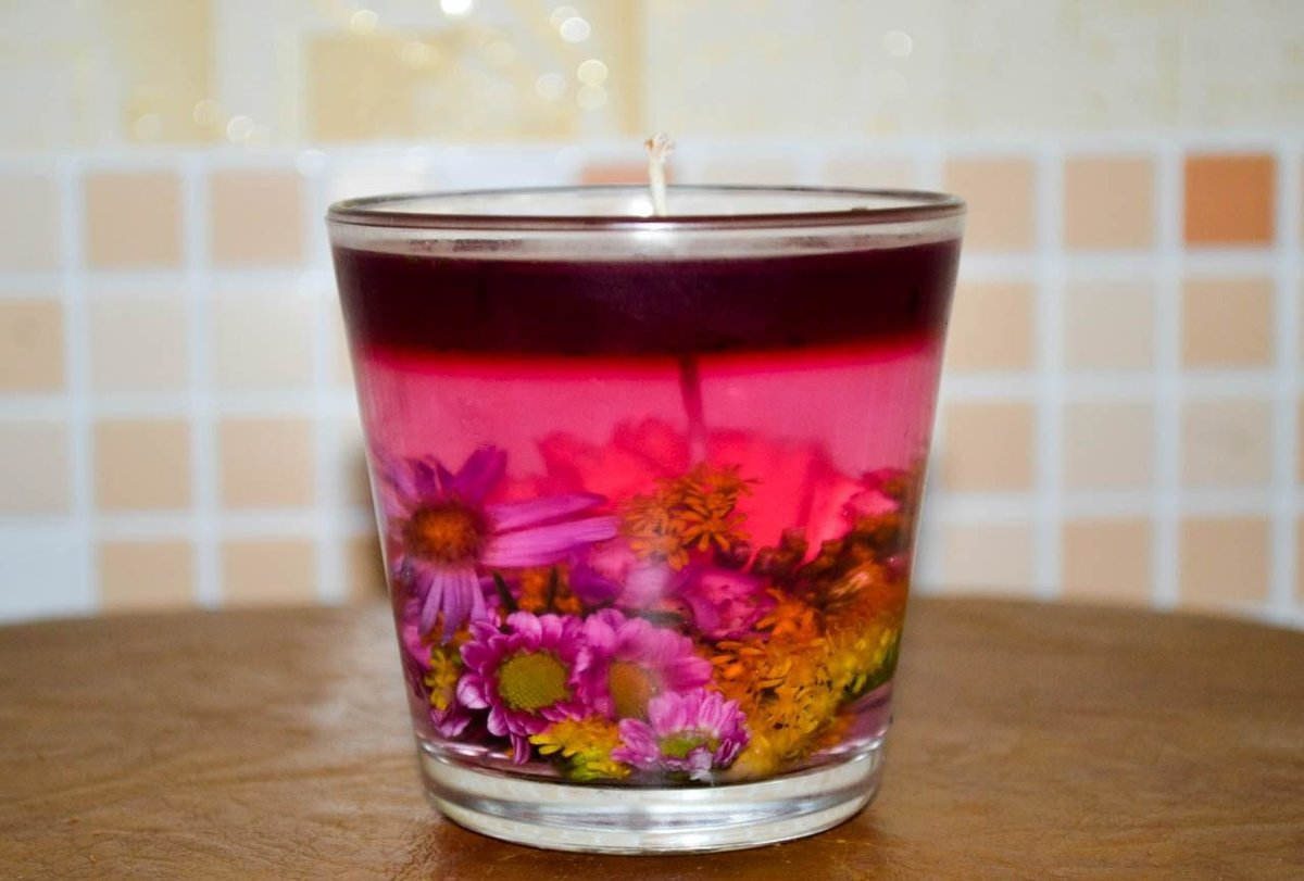 Как сделать самой свечку в домашних условиях