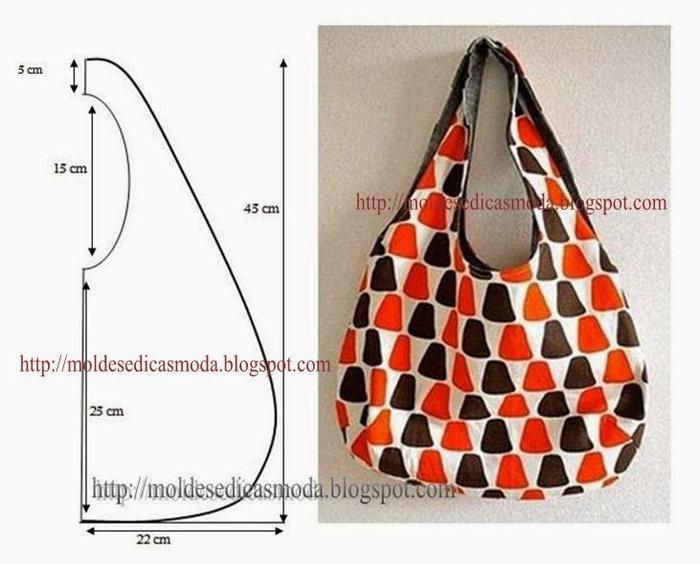 Как сделать легкую сумку 356