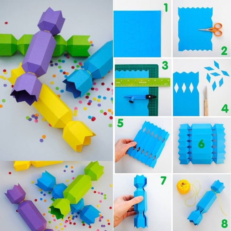 Как сделать поделки из бумаги своими руками для детей 7 лет 58