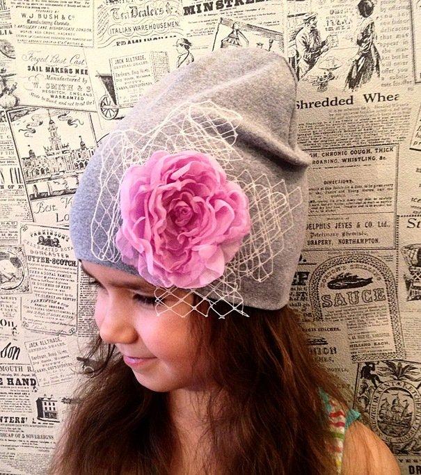 Как сшить шапку с цветком своими руками
