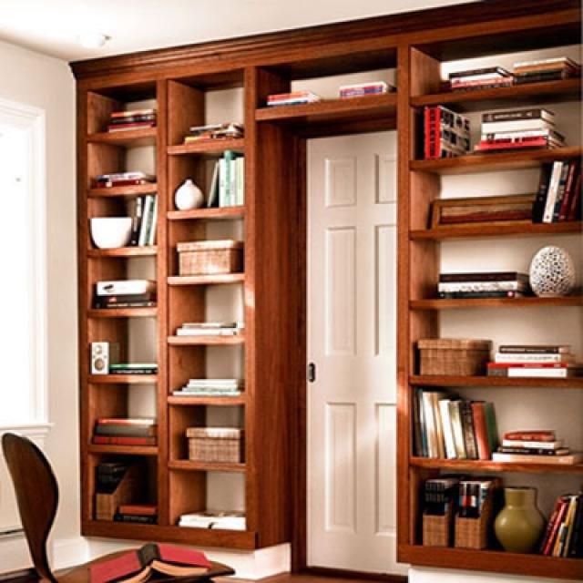 Как сделать книжный шкаф своими руками в домашних условиях 133