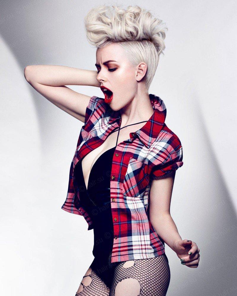 Как создать образ девушки в стиле рок - Мария Новикова 35