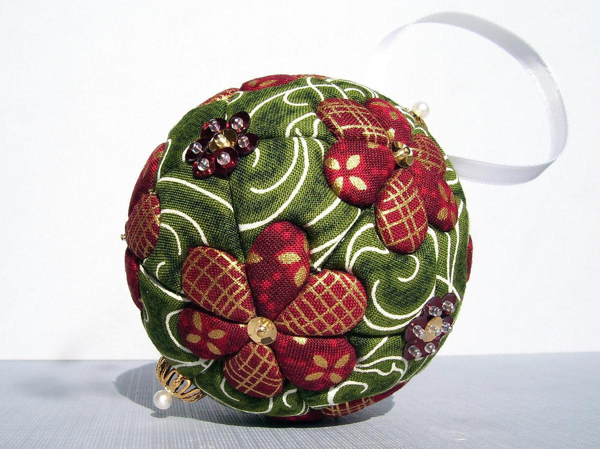 Декор своими руками пенопластовый шар