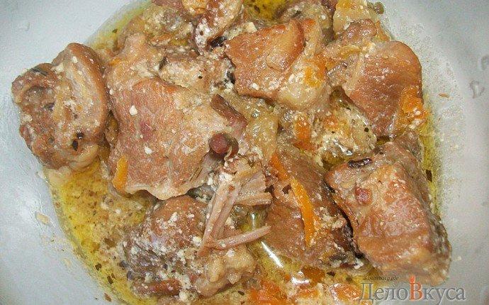 Как вкусно тушить мясо свинины пошаговый рецепт
