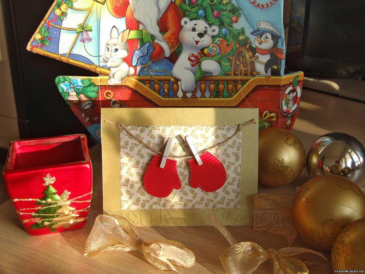 Подарки простые своими руками на новый год