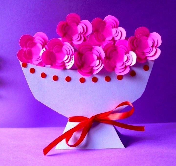 букет цветов для мамочки своими руками - карточка от пользователя kseniya.ruda в Яндекс.Коллекциях