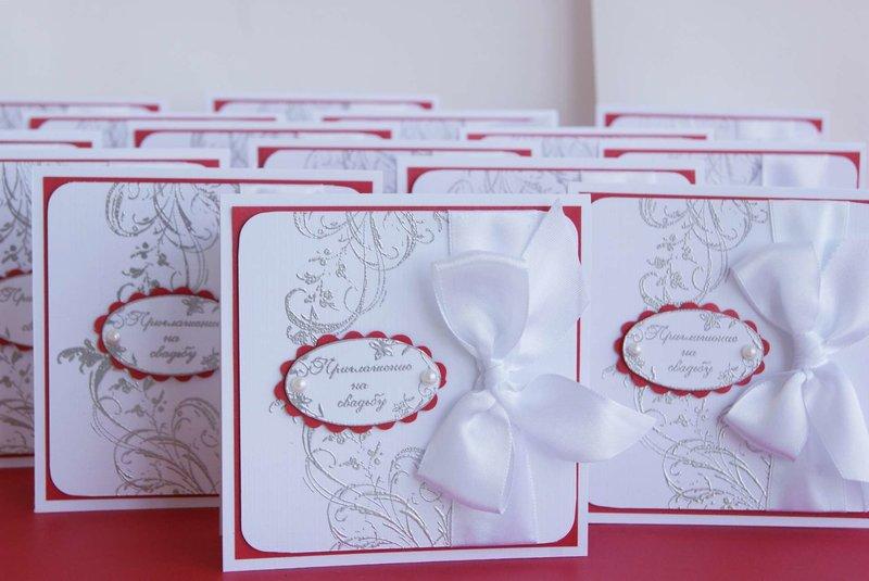 Свадебные приглашения своими руками с молодоженов