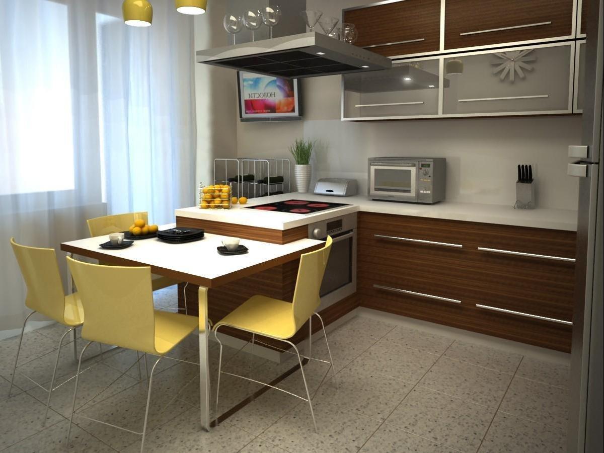 Дизайн кухни фото 12кв м