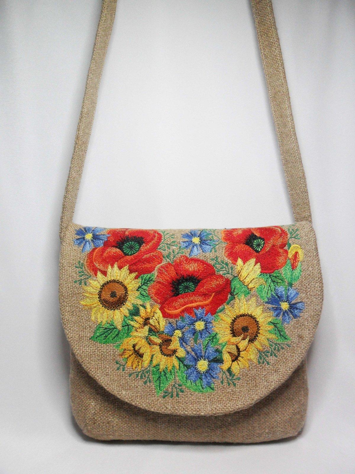 Вышивка крестом на сумке мастер класс