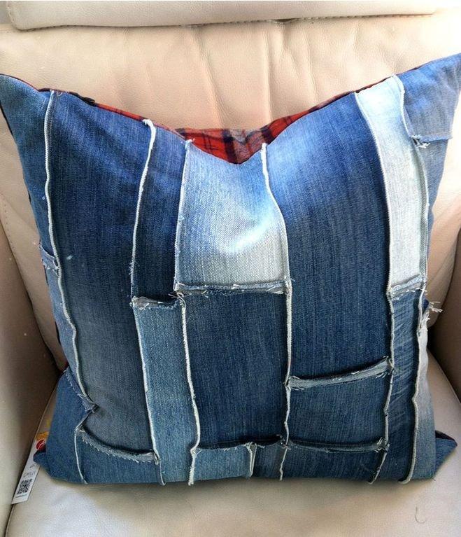 Как сшить что-нибудь из джинсов