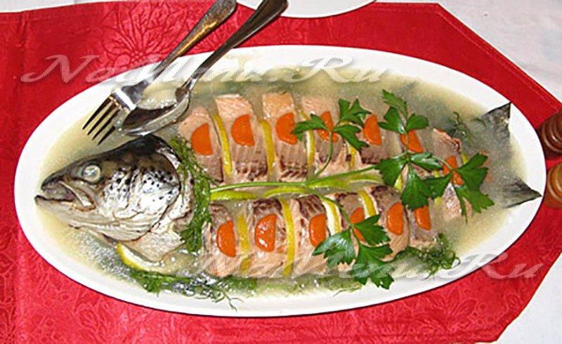 Как сделать заливную рыбу с желатином