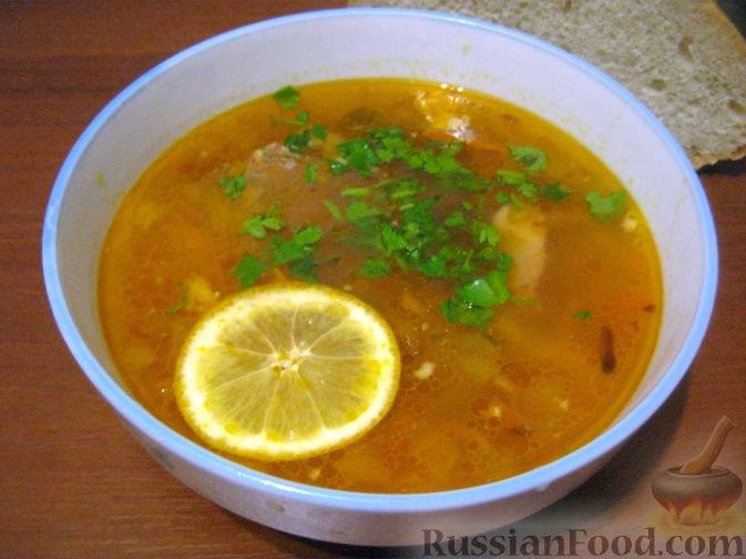 Солянка мясная рецепт пошаговый с капустой