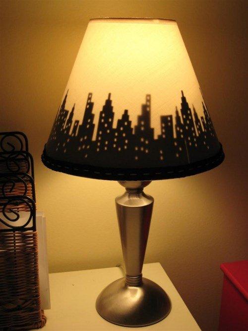 Торшер для лампы своими руками 193