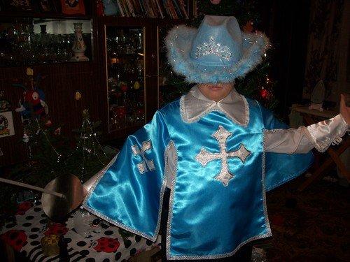 Костюм мушкетера новогодний своими руками