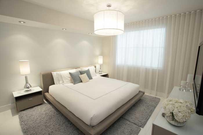 Дизайн спальни в белом стиле