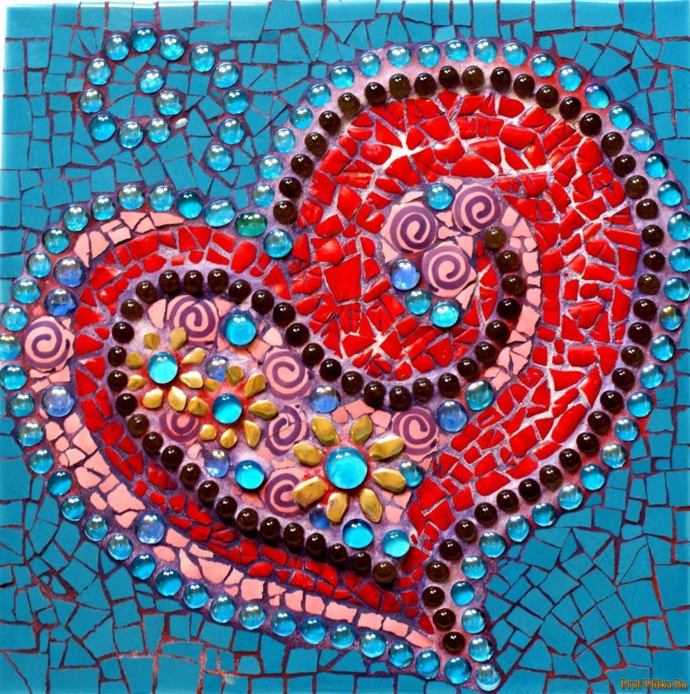 Узоры из мозаики из плитки своими руками