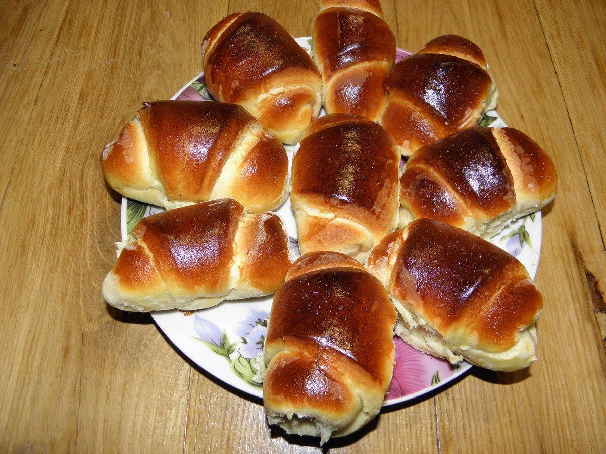 Рецепт булочек сладких в домашних условиях пошагово