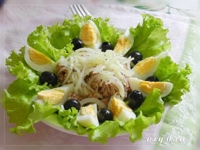 Легкий салат рецепт и