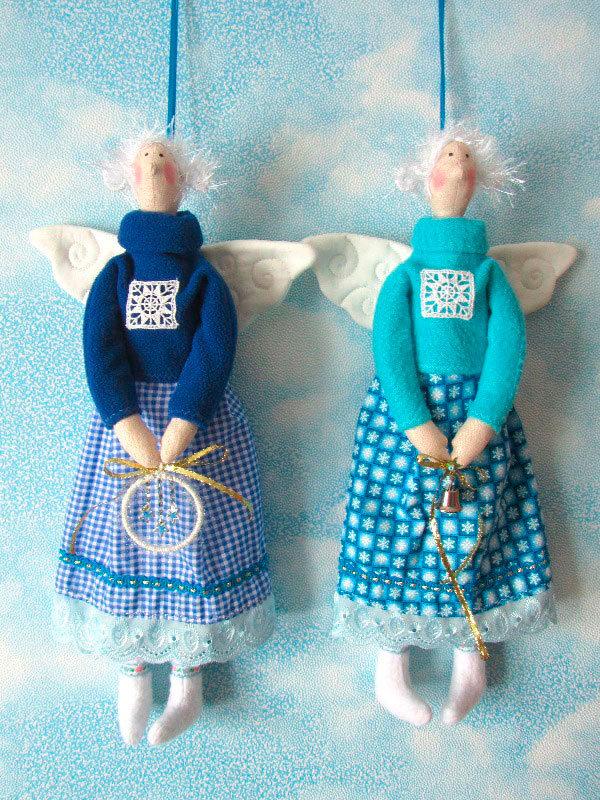 Ангел текстильный своими руками 63