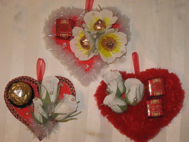 Подарки из конфет своими руками на день рождения маме 75