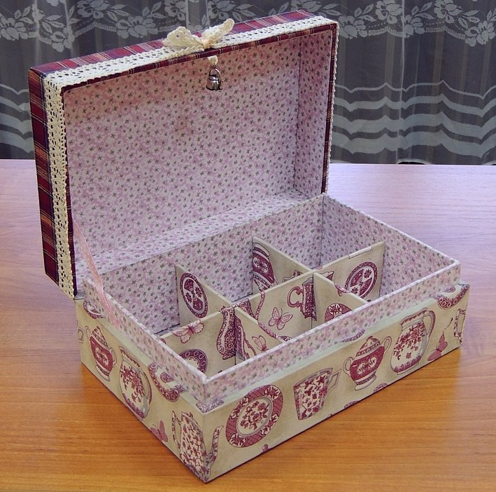 Шкатулки свои руками из картона