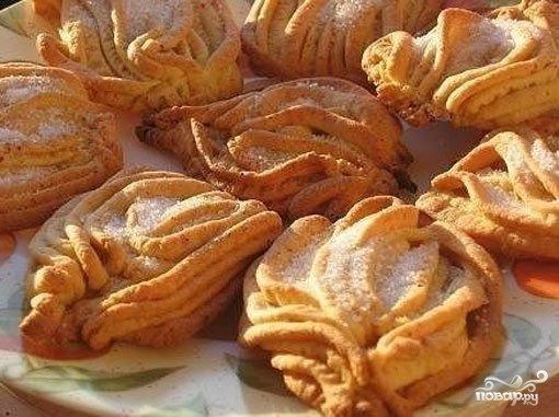 Печенье хризантемы печенье через мясорубку с фото