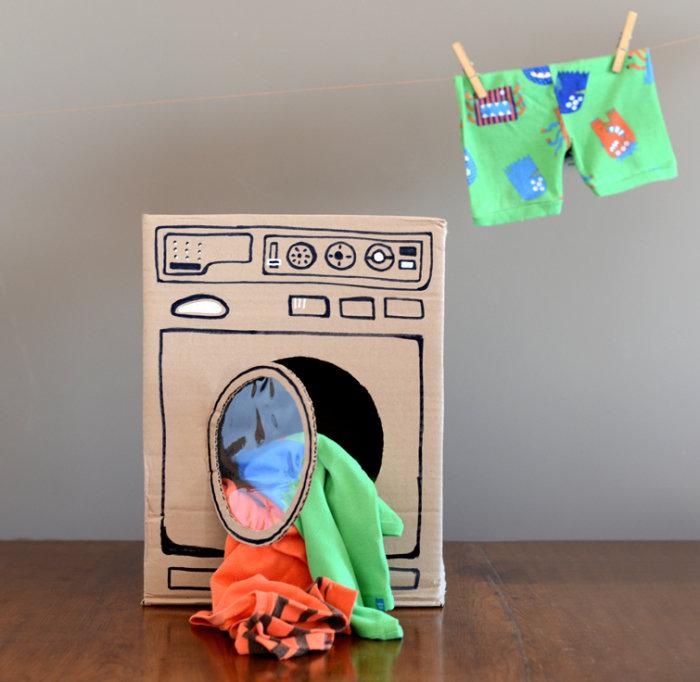 Как сделать из картона игрушку для ребенка