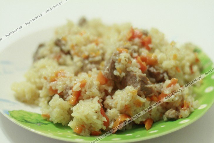 рецепт плова мясом пошаговое фото