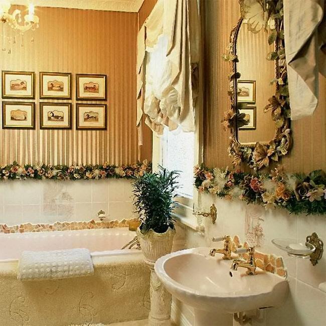 Декорирование ванной комнаты своими руками фото 35