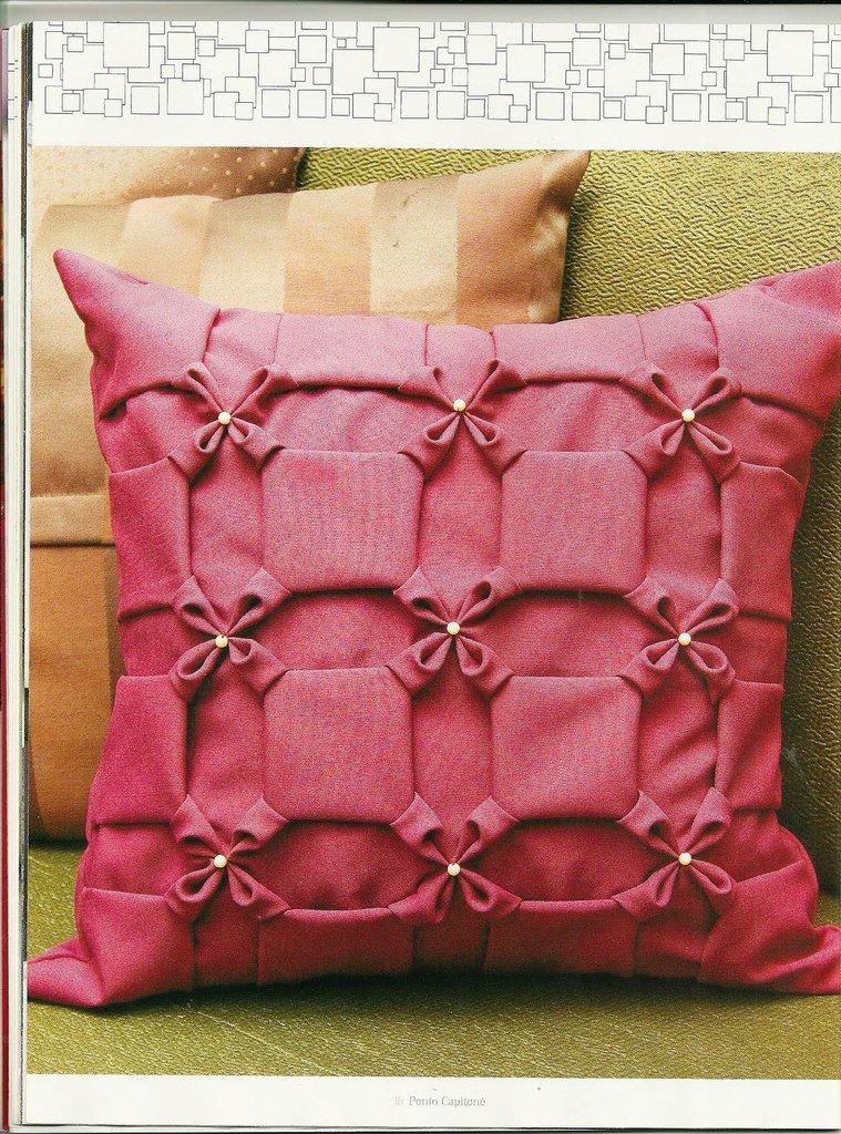 100 лучших идей: декоративные подушки своими руками на фото 72