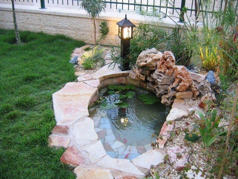 Декоративные бассейны для дачи