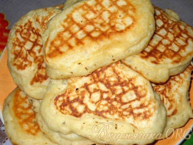 Оладьи на кефире в духовке пышные рецепт с фото пошагово