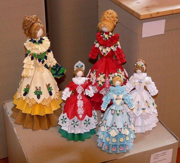 Кукла своими руками из бумаги мастер класс
