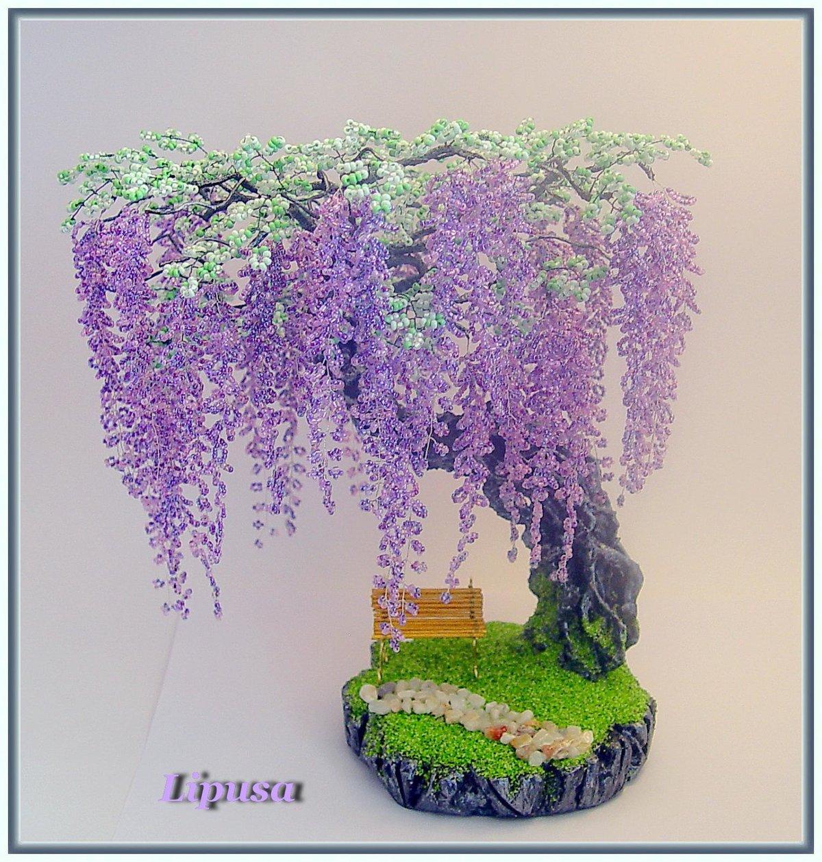 Бисероплетение фото и схемы деревья