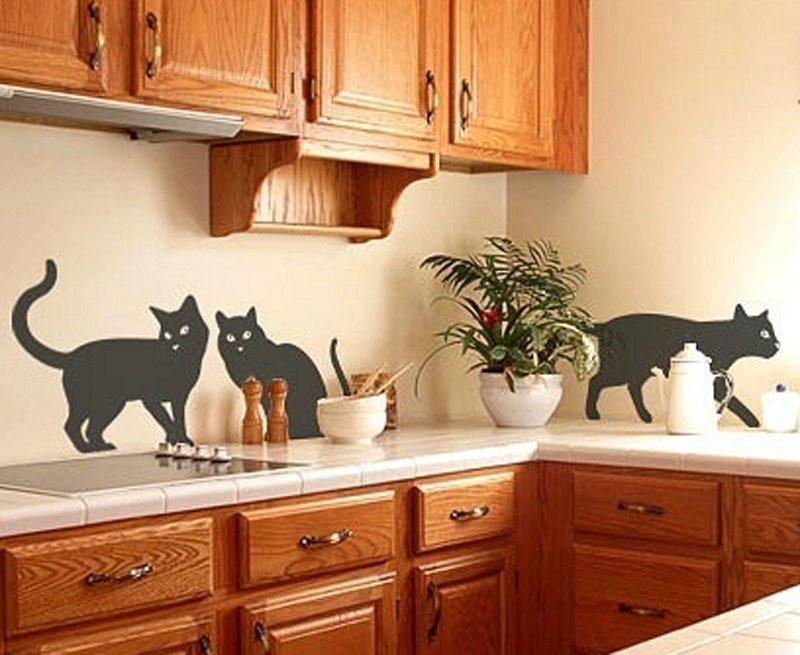 Рисунки на стенах кухни своими руками фото 100