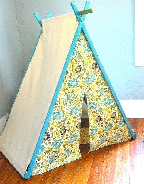 Сделать палатку для детей своими руками