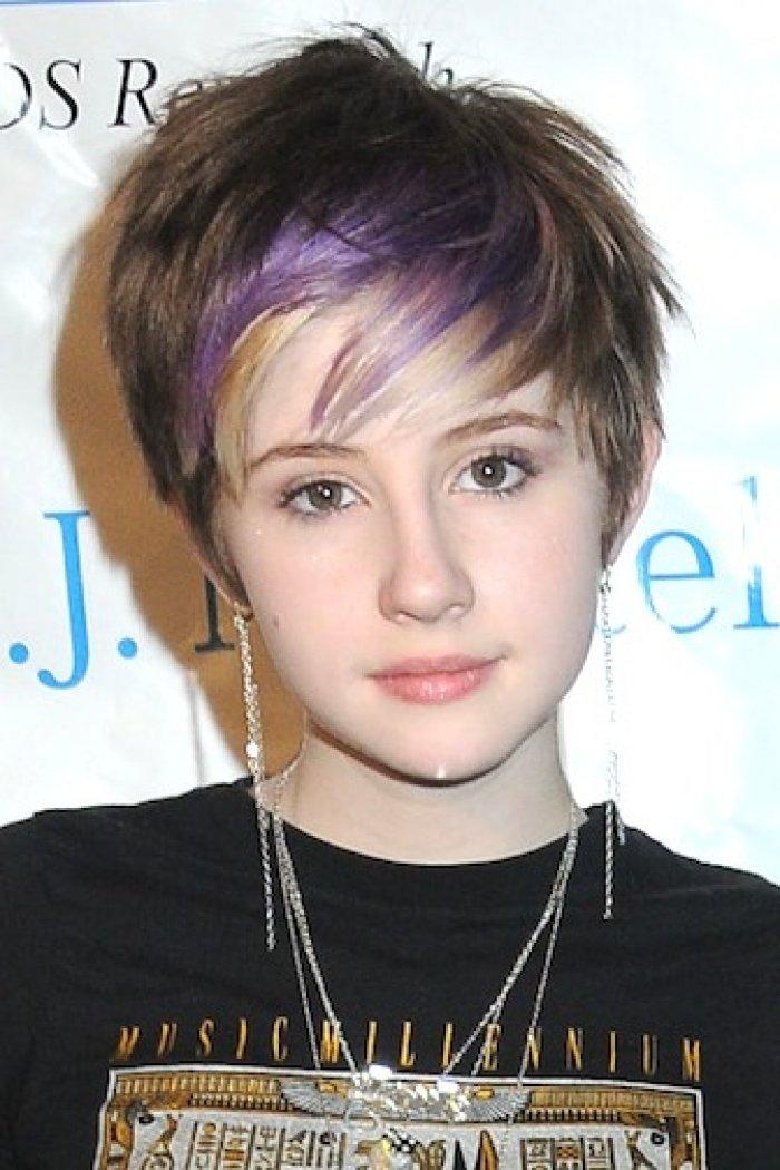 Стрижки девушке подростку волосами