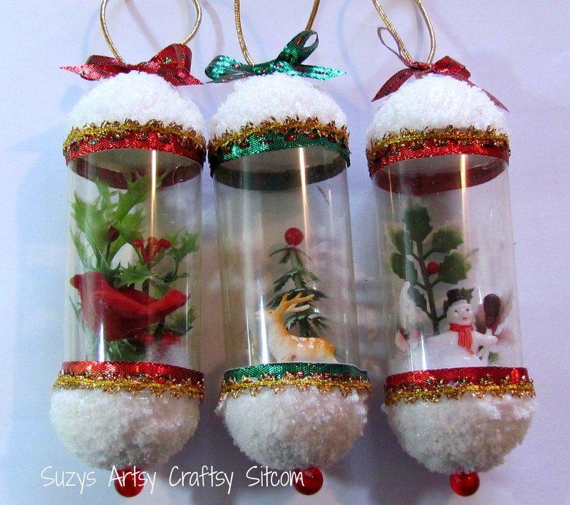 Поделки  из пластиковых бутылок новогодние