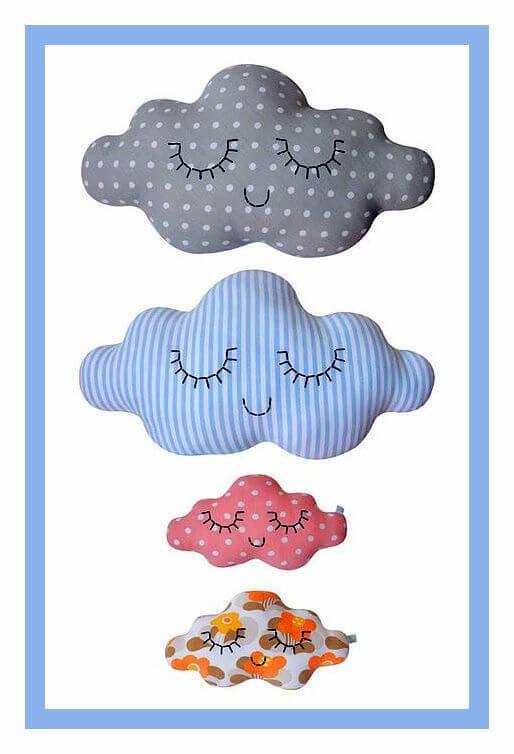 Подушки облака выкройка
