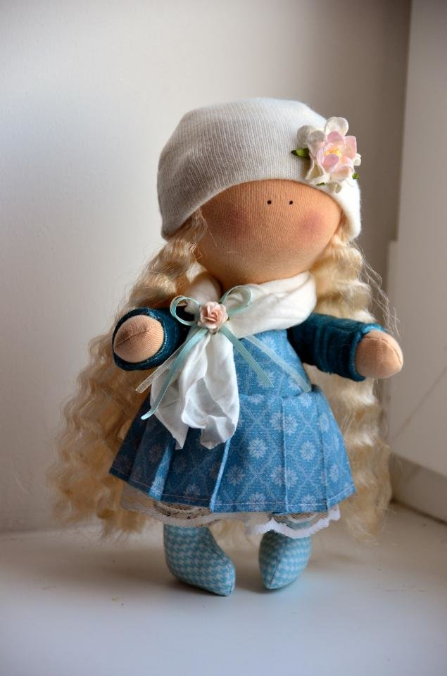Фото и мастер класс куклы своими руками