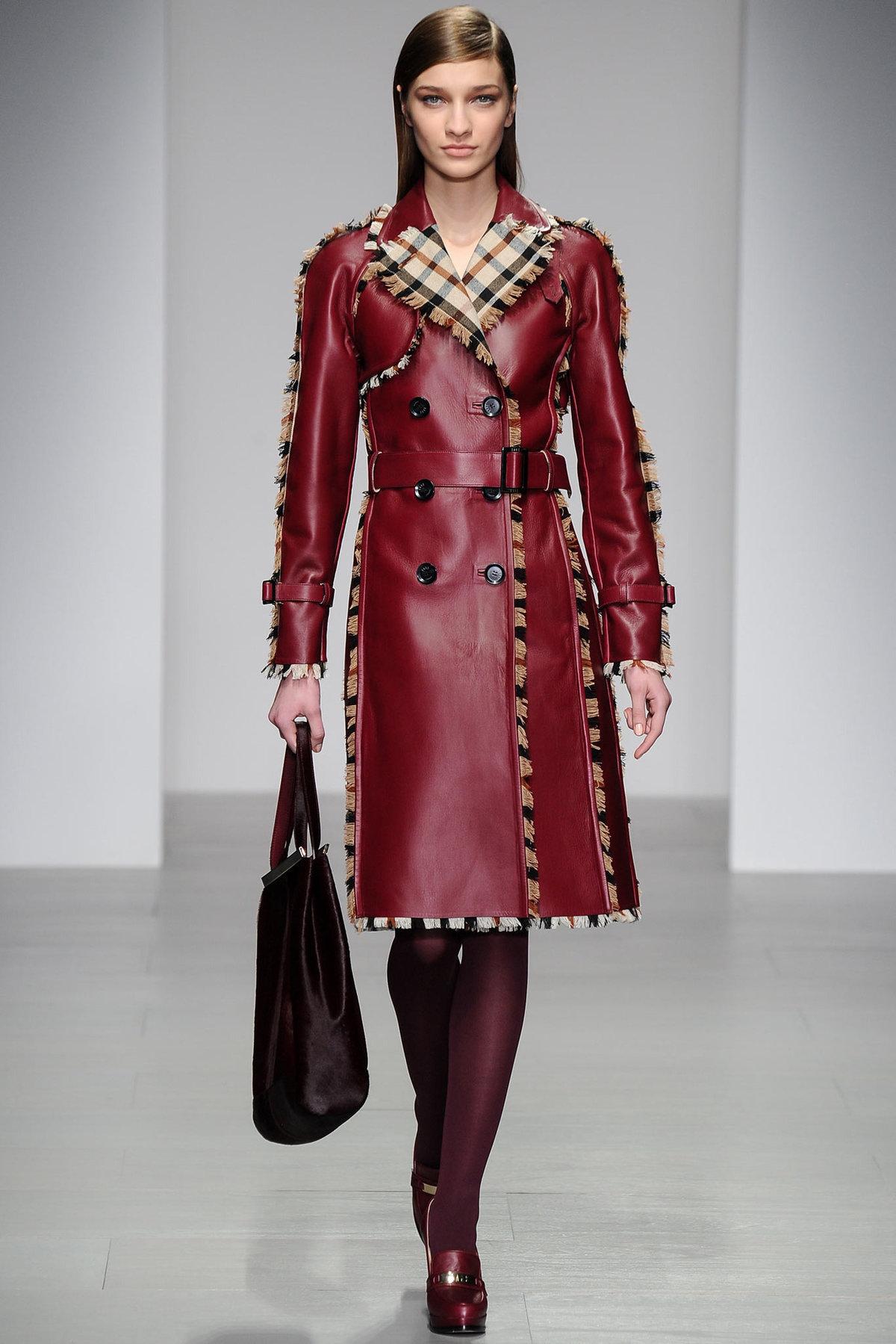 Пальто женские кожаные