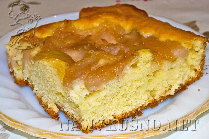 Рецепт пирога по быстрому из яблок